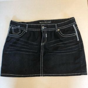 Maurice's Jean skirt size 18
